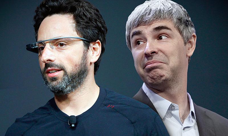 Sergey Brin y Larry Page. (Reuters)