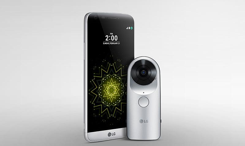 LG quiere revolucionar con su Cam 360