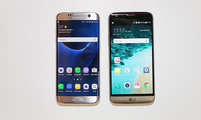 LG G5 supera a Samsung Galaxy S7 en seis puntos
