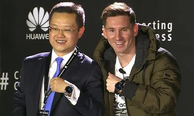 Lionel Messi nuevo embajador de Huawei