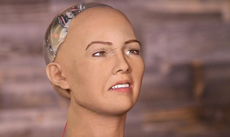 Sophia, el robot que amenaza con exterminar la humanidad