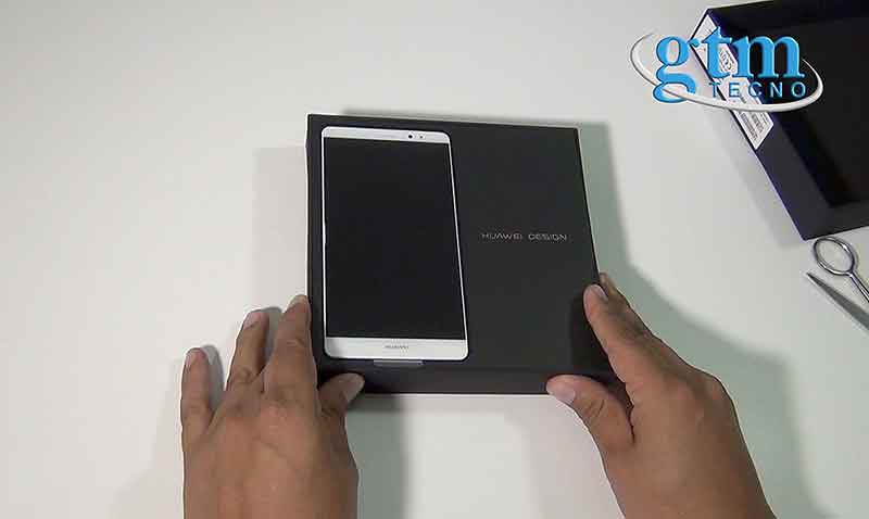 Unboxing del phablet Huawei Mate 8