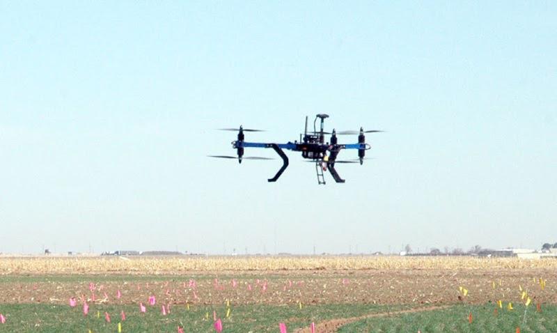 Uso de drones en la investigación científica