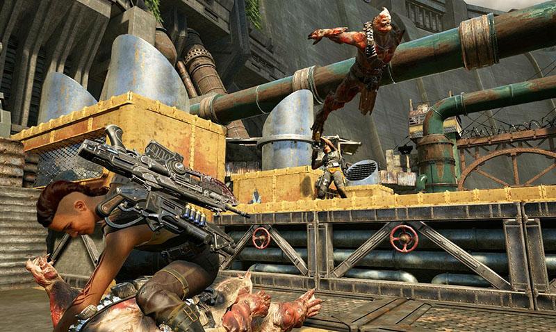 Lista la versión beta del Gears of War 4