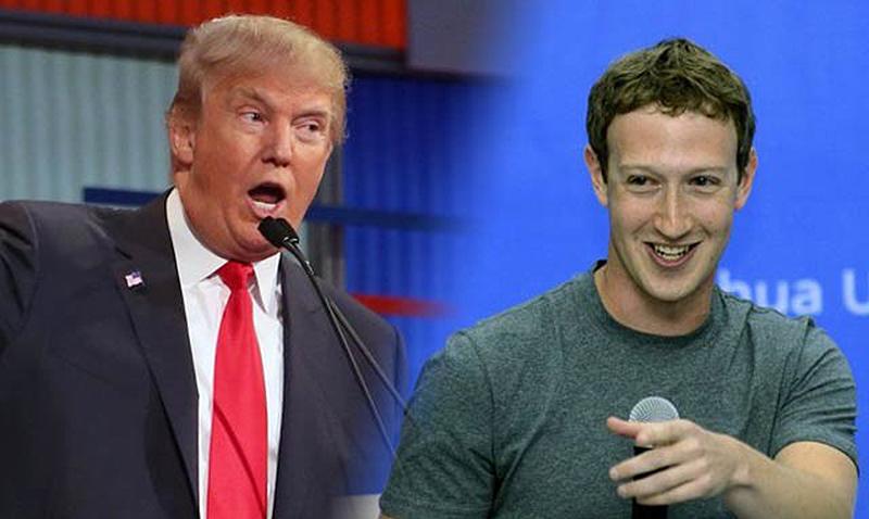 Zuckerberg no cree en los muros de Donald Trump