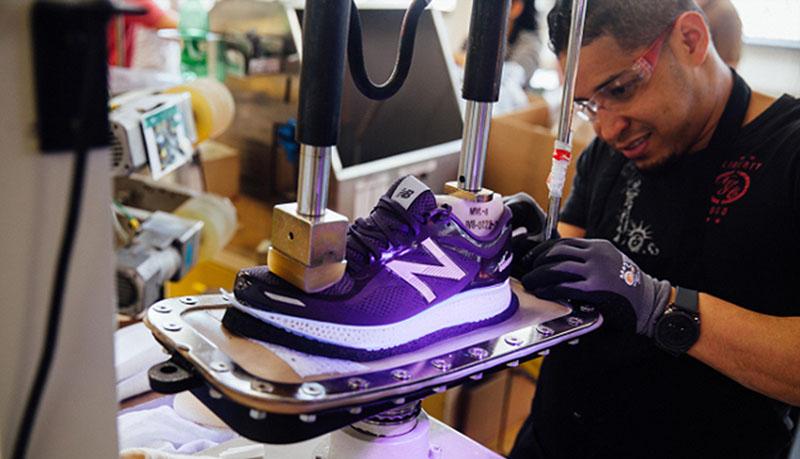 New Balance lanza los primeros tenis impresos en 3D