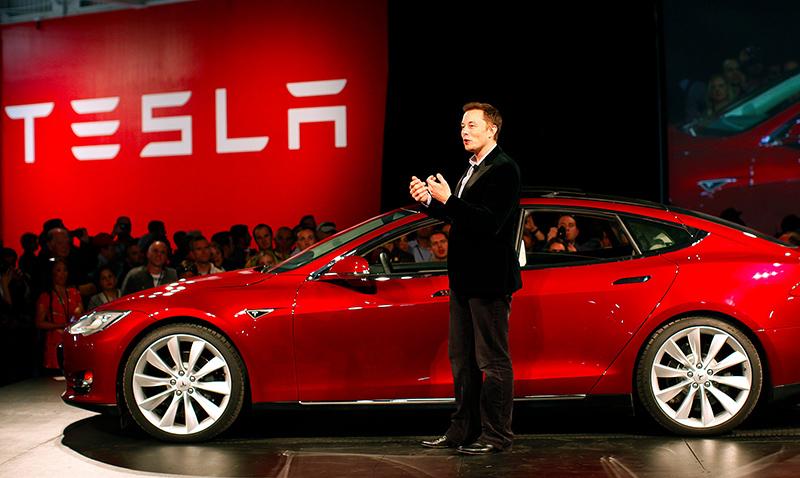 Finalmente llegó en Tesla Model 3