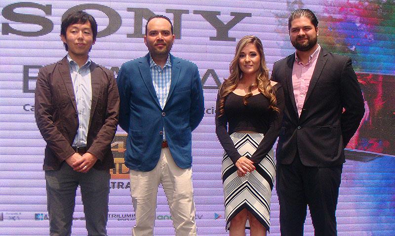 Sony presentó en Guatemala nuevos televisores 4K