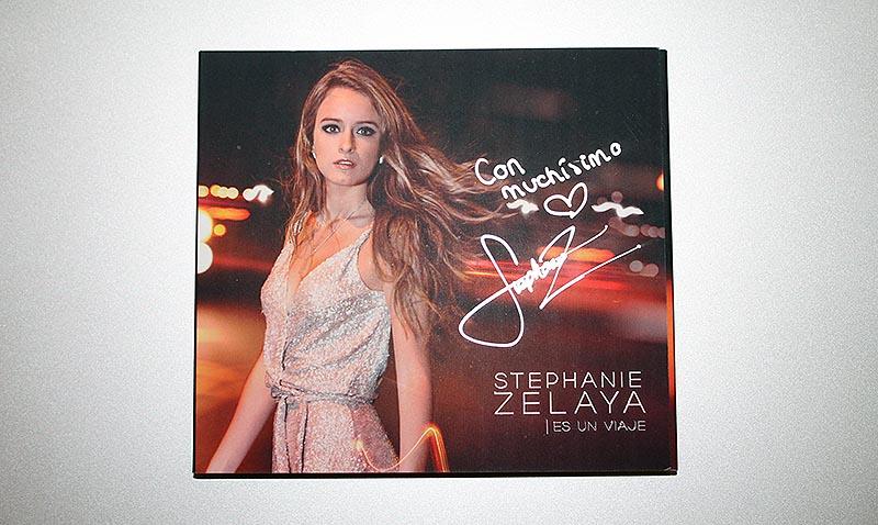"""Te regalamos el álbum de Stephanie Zelaya, """"Es un viaje"""""""