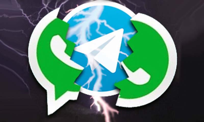Telegram le come el mandado a Whatsapp