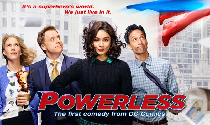 Powerless, la primer serie de comedia basada en DC Comics