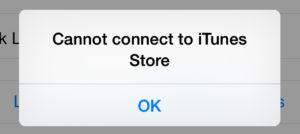 iTunes presenta fallos
