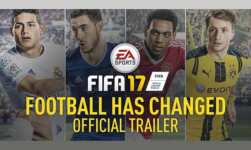 FIFA 17, precio, fecha de lanzamiento y novedades
