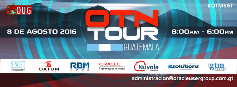 Llega a Guatemala el Oracle Technology Network Tour