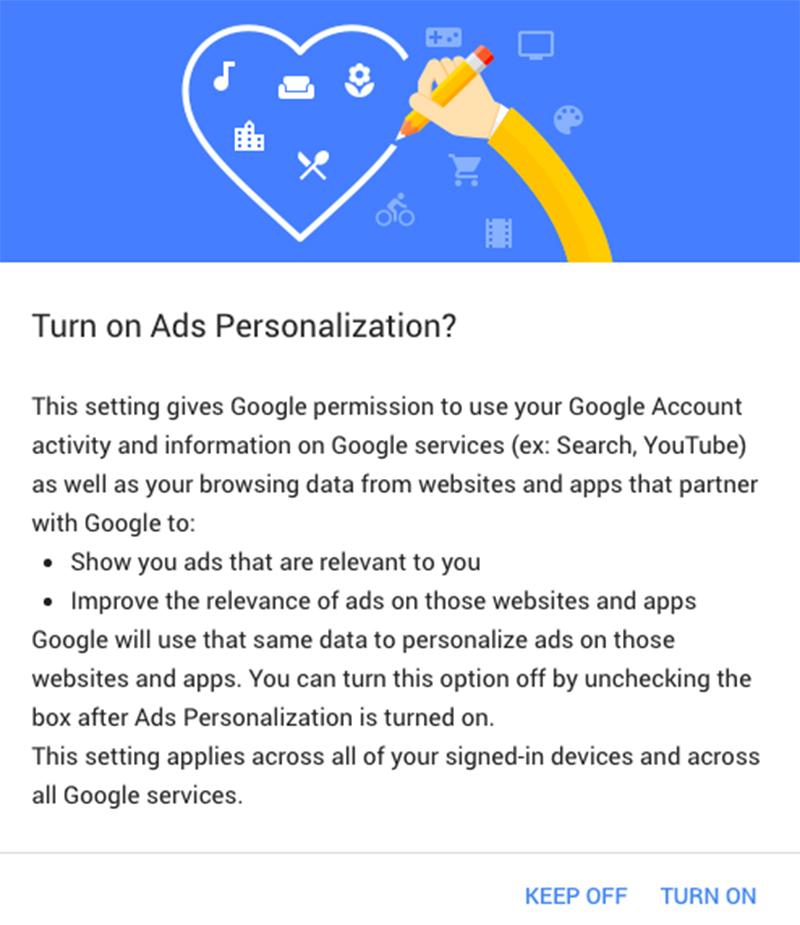 Google sigue tus pasos, pero te dejará la última palabra