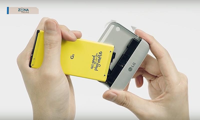 GTM Tecno realizó el Unboxin y Review del LG G5 SE