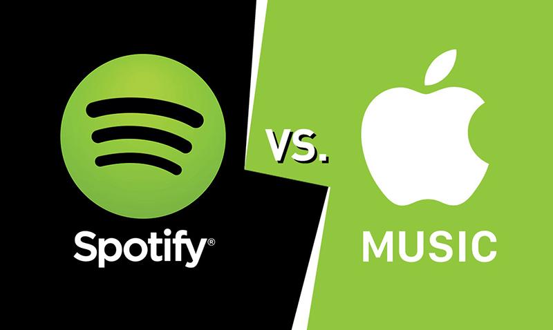 Spotify y Apple confrontados
