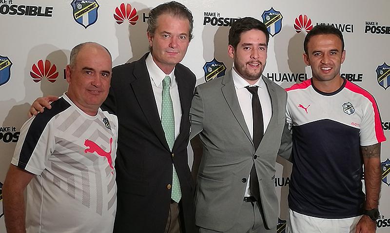 Huawei nuevo patrocinador de Comunicaciones Futbol Club