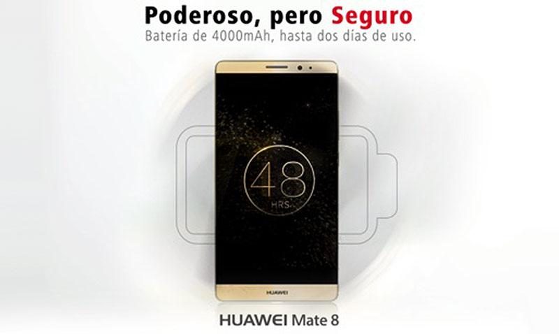 Huawei resalta la seguridad de su Mate 8