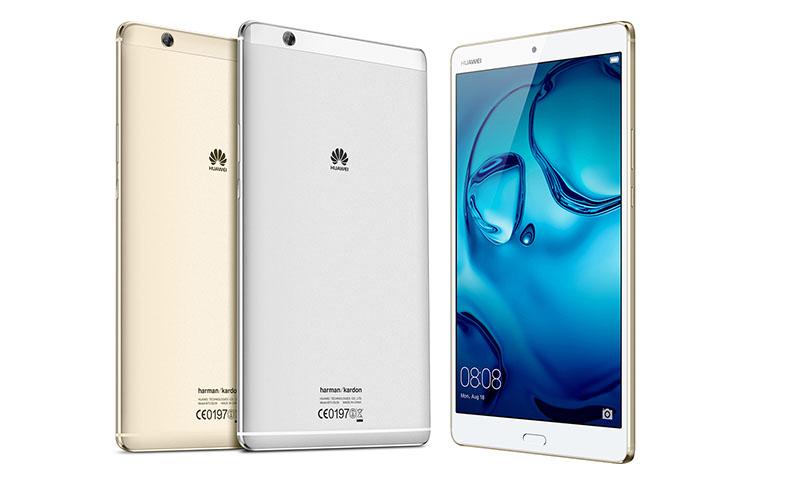Huawei presenta su nueva tablet MediaPad M3