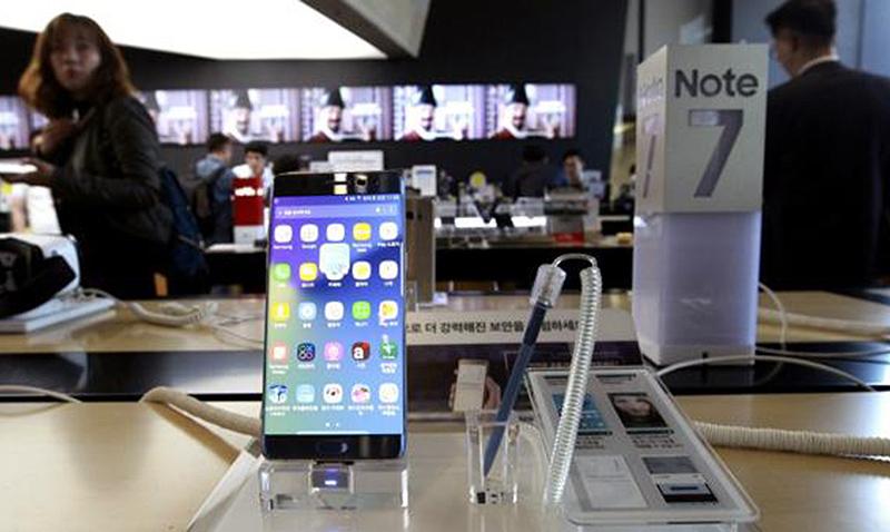 Llegó el knock out, Samsung suspendió la producción del Galaxy Note 7