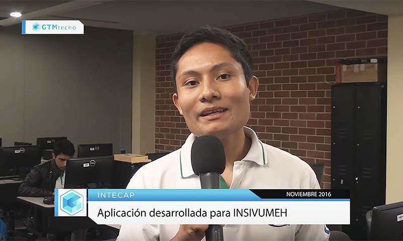 Jóvenes chapines desarrollan aplicación para el INSIVUMEH