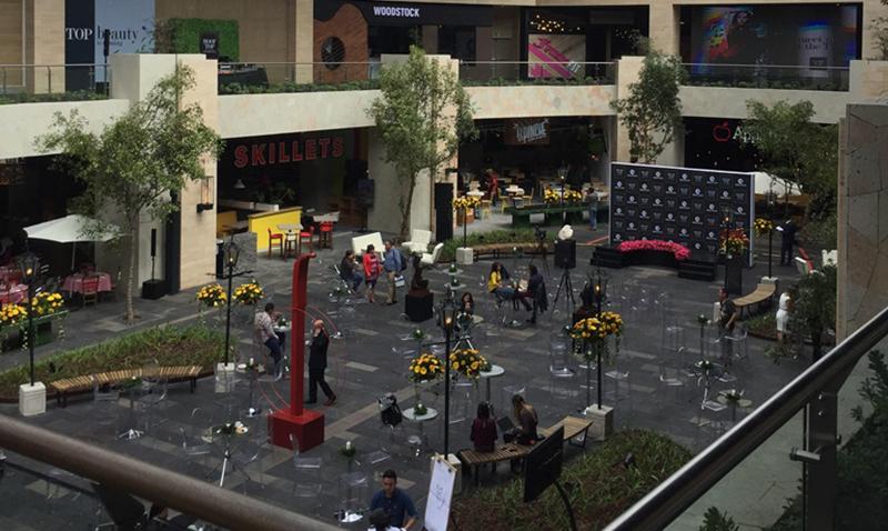 Rooftop de Oakland Mall a la vanguardia
