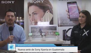 Presentación en Guatemala del Sony Xperia X, Xperia XA y Xperia E5