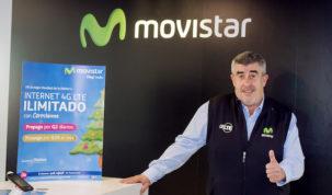 Internet 4G LTE de Movistar sin cambiar de número de teléfono