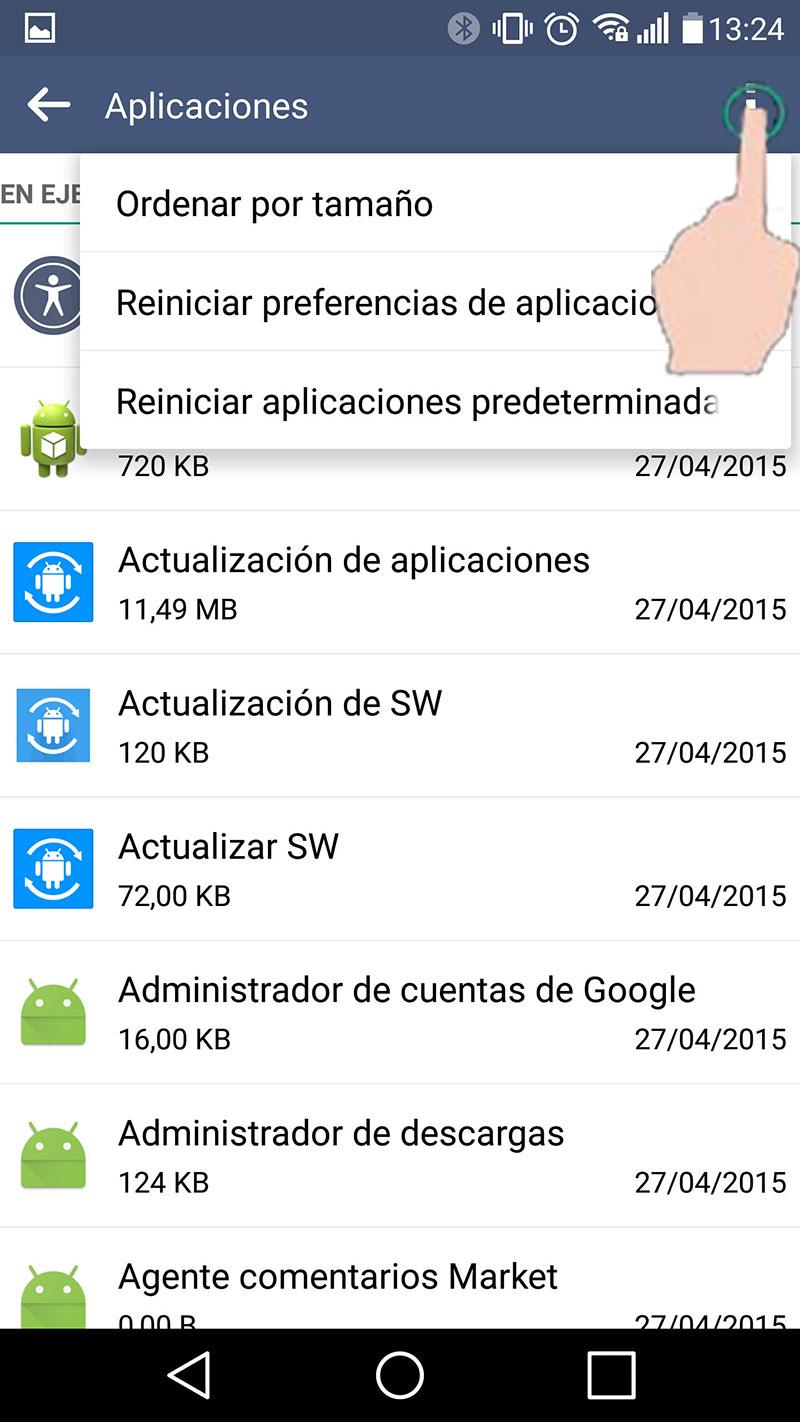 """Cómo solucionar el problema de """"memoria llena"""" en Android"""