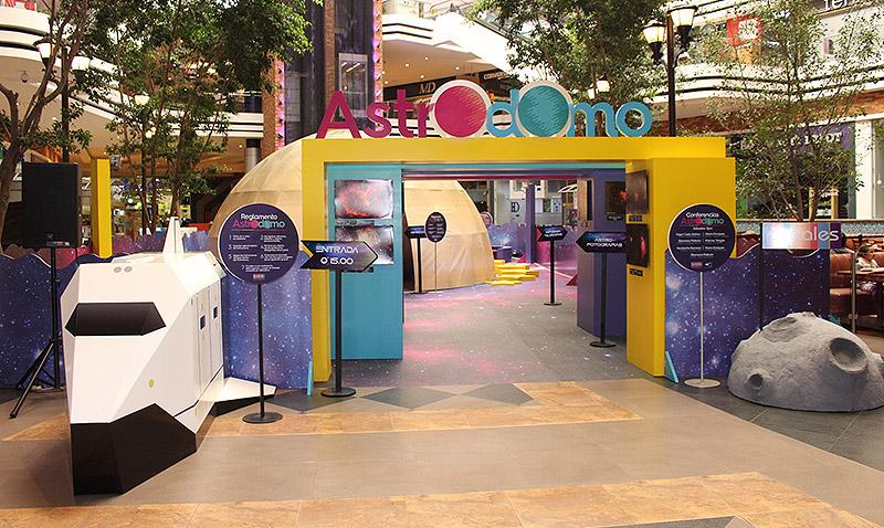 Se inauguró el Astrodomo, un excelente espacio educativo