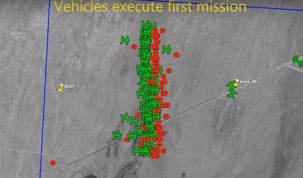 """El Pentágono probó con éxito un """"enjambre"""" de mini drones"""
