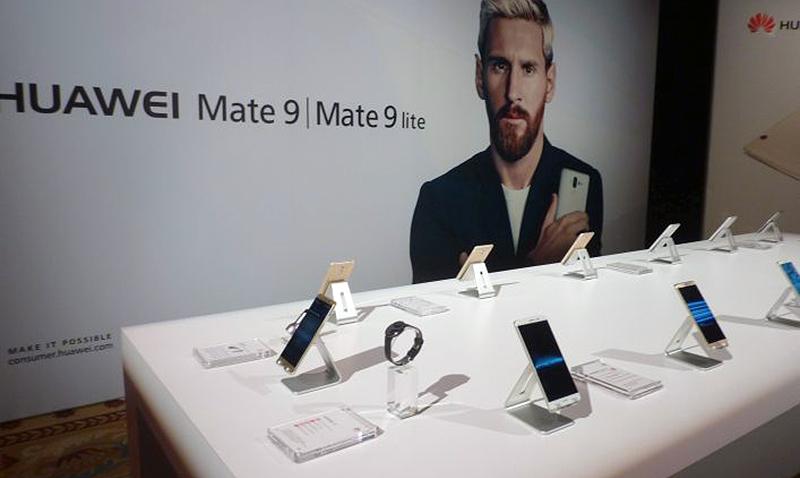 Huawei presentó en Las Vegas el nuevo Mate 9
