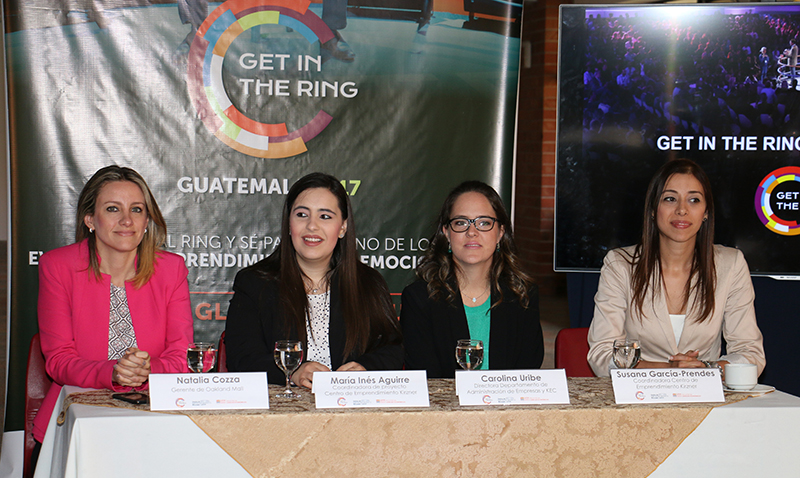 "UFM lanza concurso mundial de emprendimiento ""Get in the Ring"""
