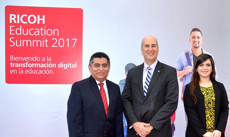 Ricoh Guatemala presenta Education Summit 2017