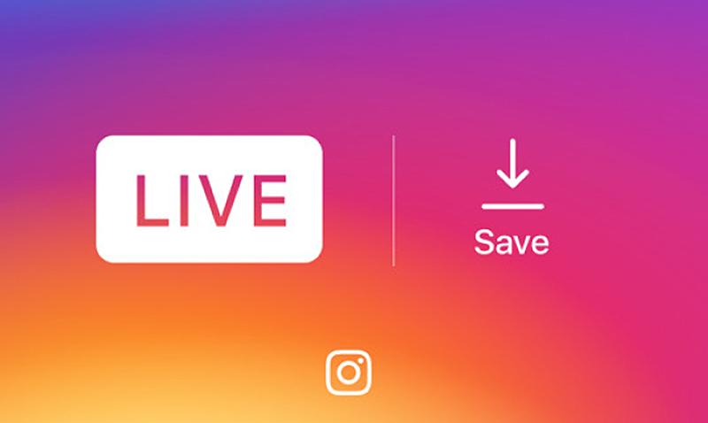 Ya puedes grabar las transmisiones en vivo de instagram