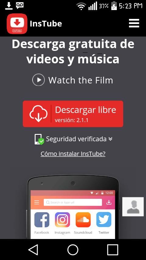 descargar aplicacion para descargar videos de youtube para android